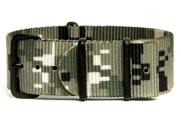 Digital Green camo NATO strap