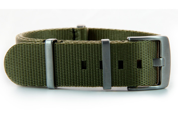 Khaki Green seatbelt NATO - 20mm