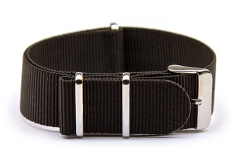 20mm NATO Strap Solid Black