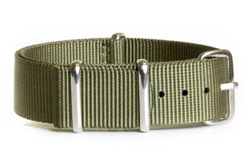 24mm Khaki Green NATO strap