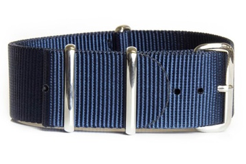 24mm Navy blue NATO strap